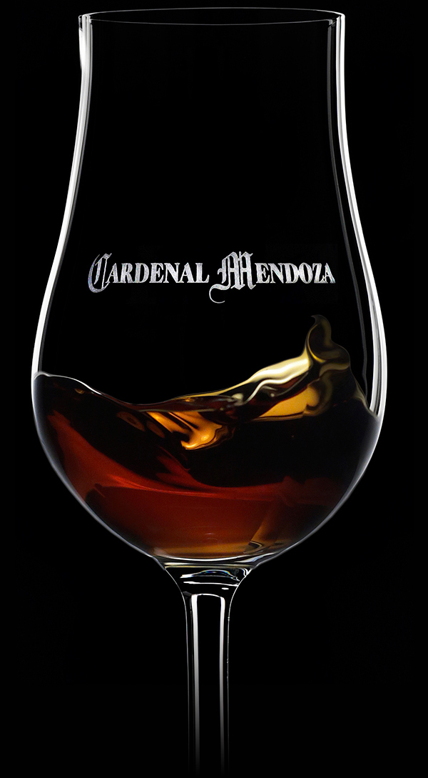 Cardenal Mendoza NPU in an elegant glass