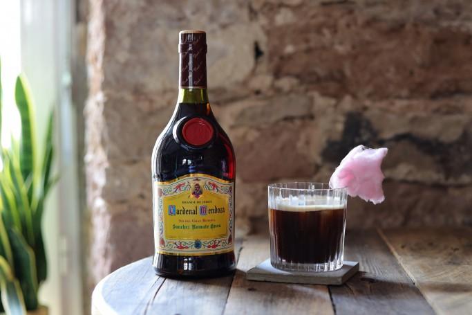 pop up coffee cocktail cardenal mendoza brandy
