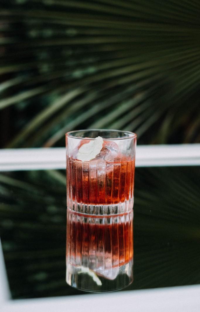 Cocktail a base de Cardenal Mendoza