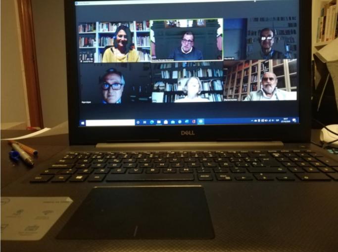 El jurado se reunió en sesión virtual para el fallo de la anterior edición, por la pandemia.