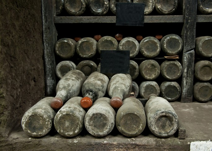 botellas brandy historicas