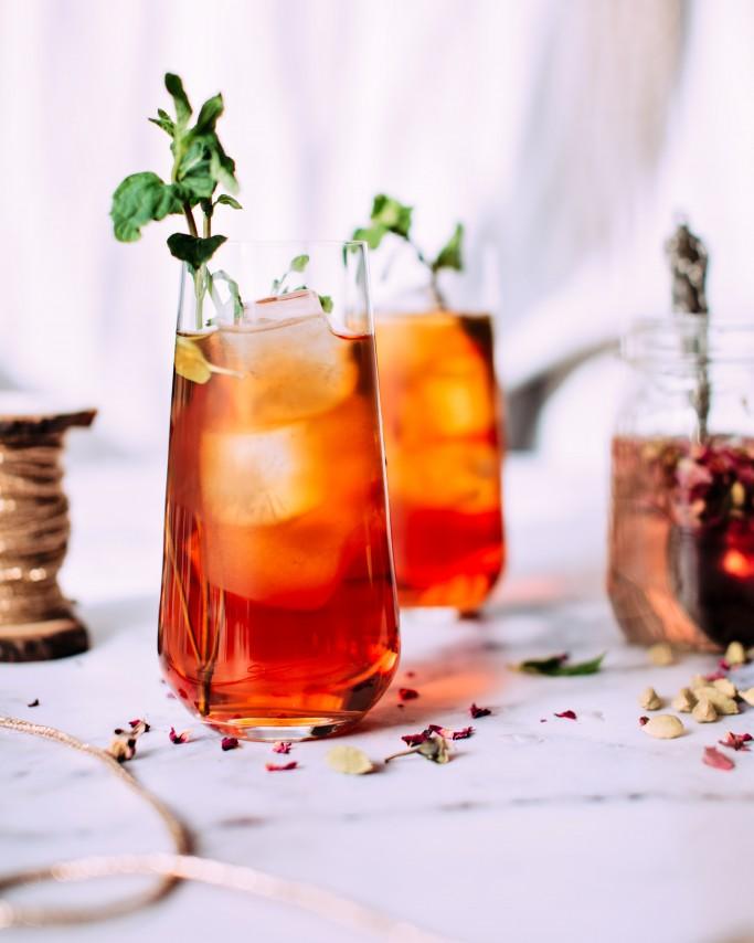 Cocktail con Brandy de Jerez Cardenal Mendoza